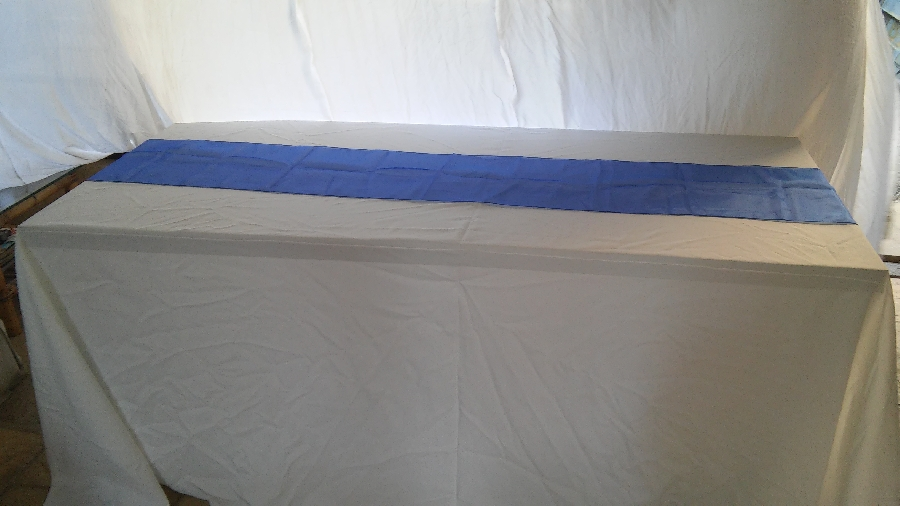 101-party-hire--table-linen-hire--organza-table-runner-various-colours-available
