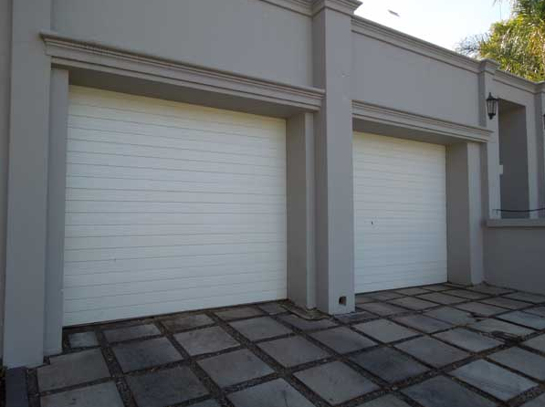 single-alu-zink-garage-door-&-motor-installed-combo
