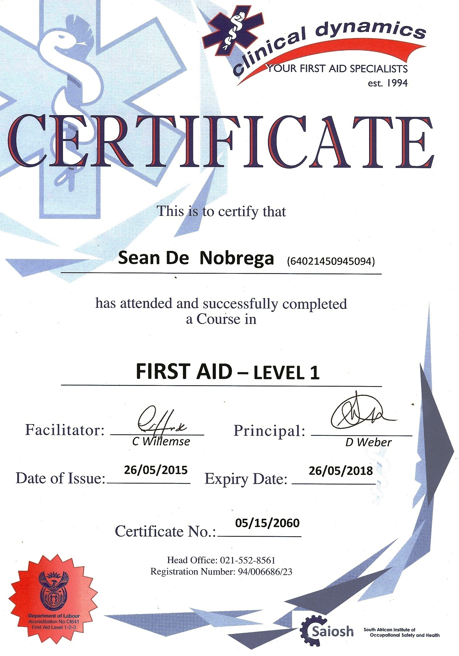 First aid certificate template sample bid proposal template about us absolute birding south african birding tours first20aid20certificate waboutphp first aid certificate template first aid certificate template yadclub Choice Image
