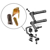 211498101--anti-roll-bar-mounting-kit--left--split-65-67-per-kit