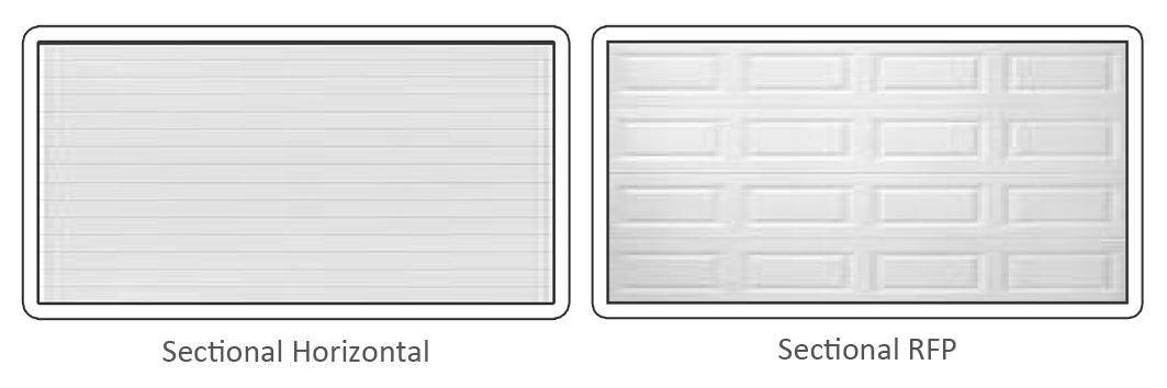 GARAGE DOORS  sc 1 st  Aladdin Garage doors & Colour Steel Sectional Doors | Products | Silvertondale Pretoria ... pezcame.com