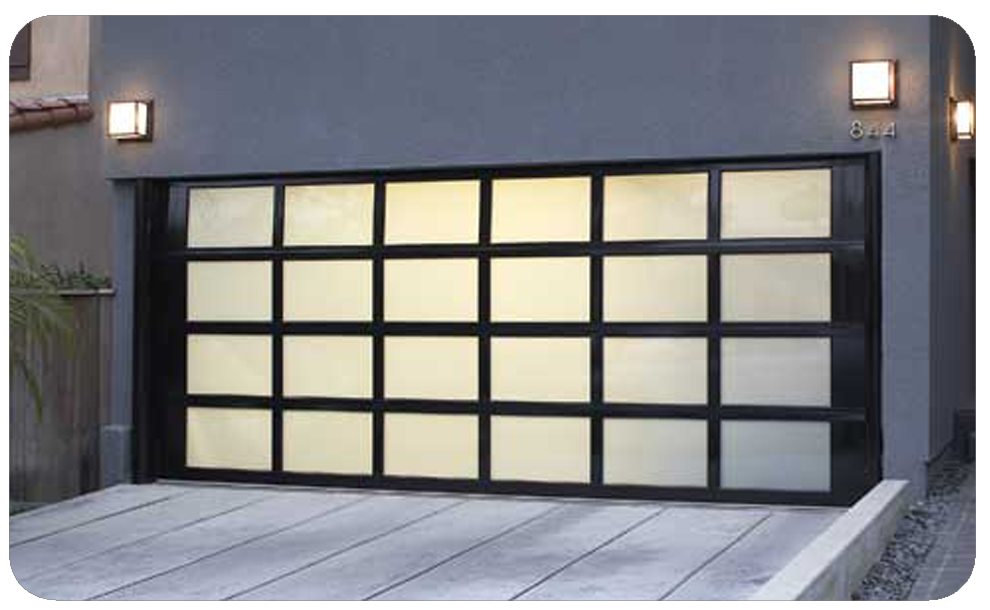 Glass Amp Aluminium Sectional Garage Doors Products