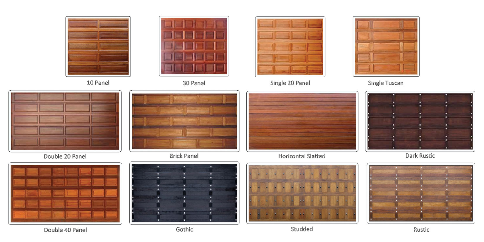 827 #A44A27 Garage Door 20 Panel Wooden Garage Door 30 Panel Wooden Garage Door  pic Horizontal Garage Doors 37811654