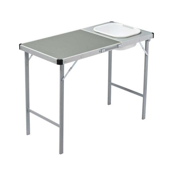 Oztrail Camp Kitchen Deluxe With Sink On Table Outdoor Ideas