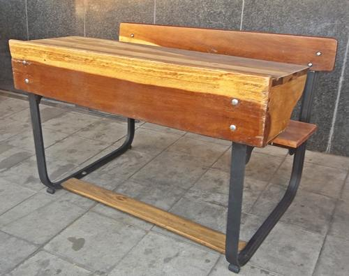 double-seated-school-bench-9946