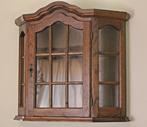oak-angle-wall-cabinet-sold