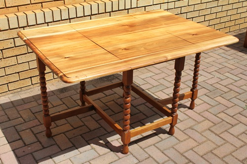 teak-&amp-mahogany-drop-side-table
