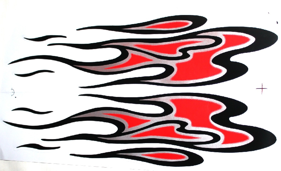 red-flame-sticker