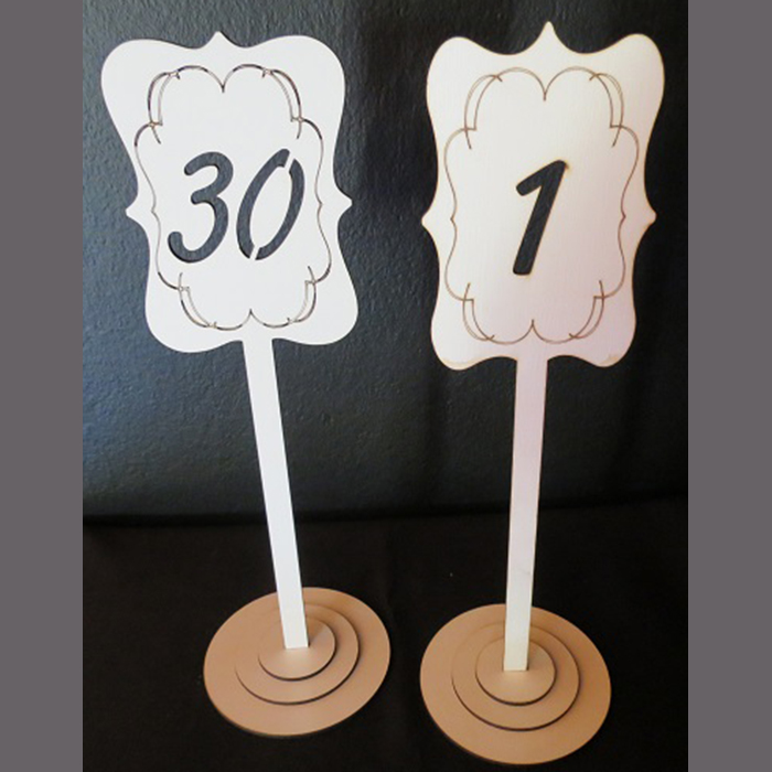 white-frilled-edge-table-number