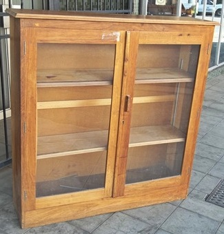 teak-bookcase-sold