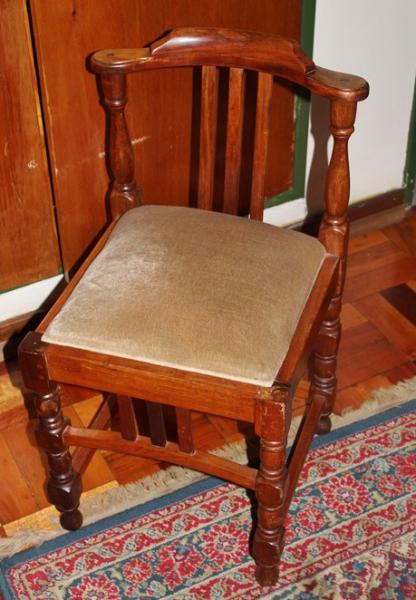 mahogany-office-chair-sold