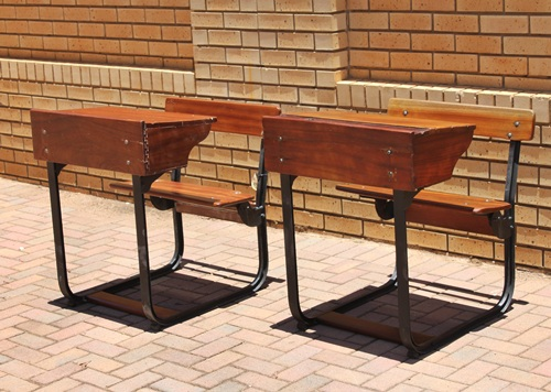 mahogany-pair-of-school-benches-sold