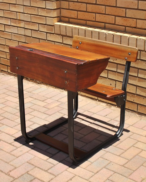 mahogany-single-school-bench