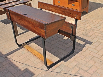 partridge-double-seated-school-bench-sold