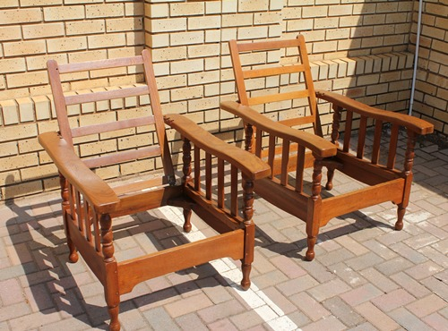 teak-morris-chair-set