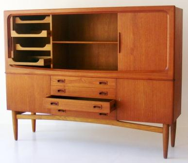 sideboard-dresser-teak-with-roller-doors