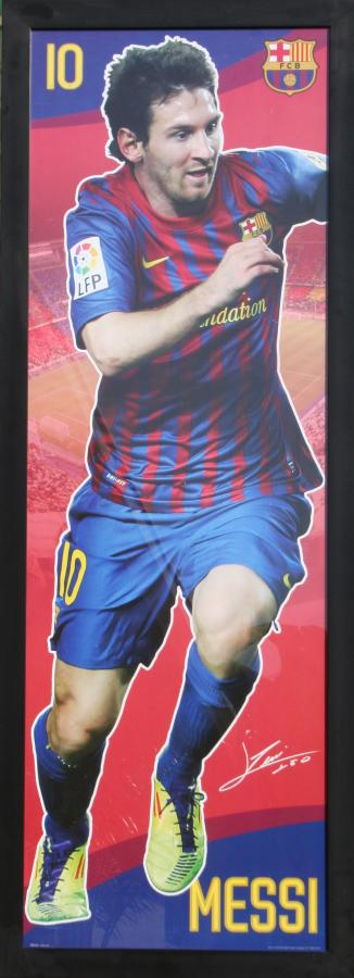 lionel-messi-frame-signed