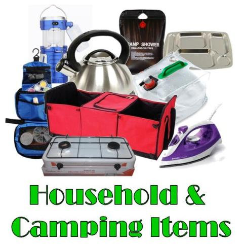 household-&amp-camping-items